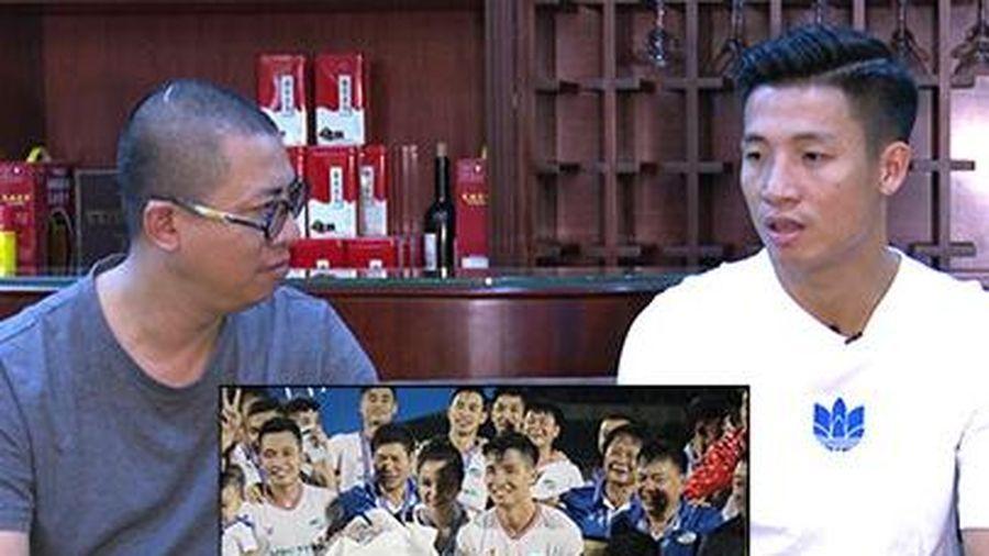 Trung vệ Bùi Tiến Dũng tiết lộ bí kíp giúp Viettel bảo vệ ngôi vương V.League