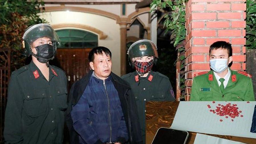 Trữ hồng phiến trong nhà để dùng dần, U50 bị khởi tố