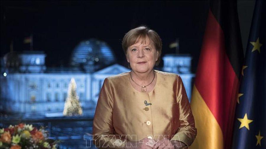 Thủ tướng A.Merkel tin tưởng nước Đức sẽ vượt qua được mọi thách thức