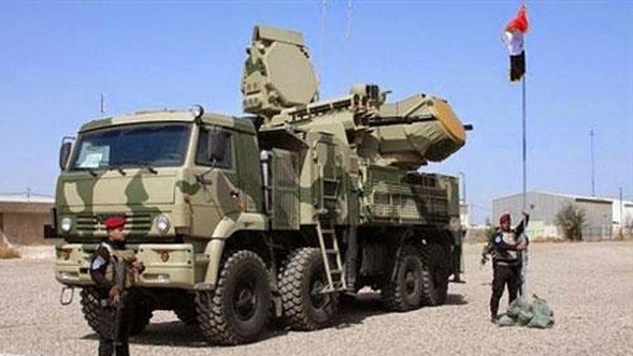 Pantsir-S1 Nga bảo vệ căn cứ quân sự Mỹ tại Iraq