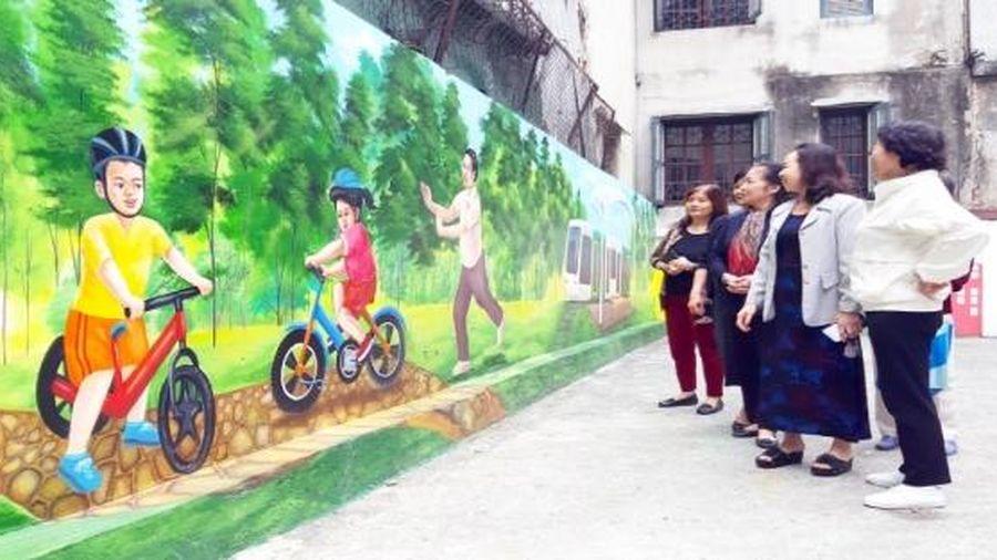 Chung tay cải tạo môi trường Thủ đô xanh, sạch, đẹp