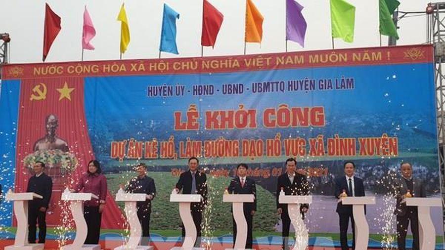 Hà Nội khởi công công trình chào mừng Đại hội đại biểu toàn quốc lần thứ XIII của Đảng