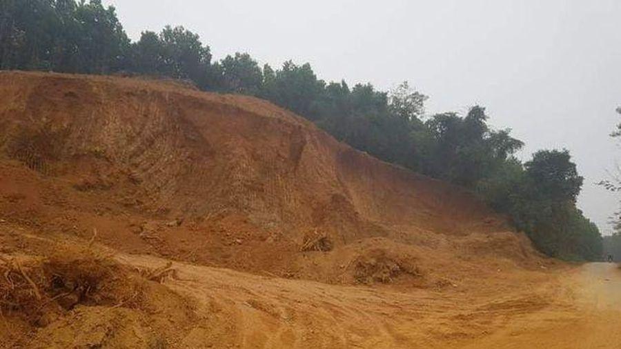 Vụ khai thác đất trái phép tại Thường Xuân (Thanh Hóa): Chính quyền xã 'bất tuân' lệnh cấp trên, đất rừng chảy máu