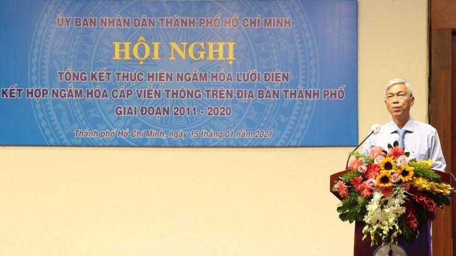 TP. Hồ Chí Minh: Ngầm hóa lưới điện gặp nhiều khó khăn, vướng mắc