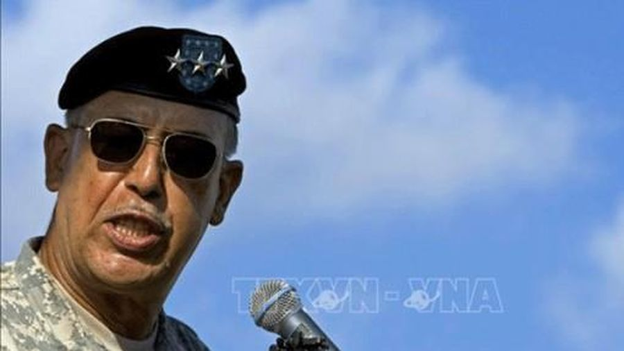 Tướng quân đội giám sát an ninh Ðồi Capitol