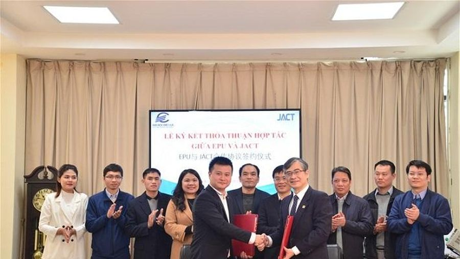 Lễ ký kết thỏa thuận hợp tác giữa EPU và JACT