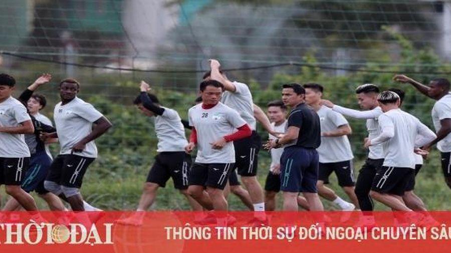 Tuấn Anh vắng mặt ở trận mở màn V-League 2021 gặp Sài Gòn