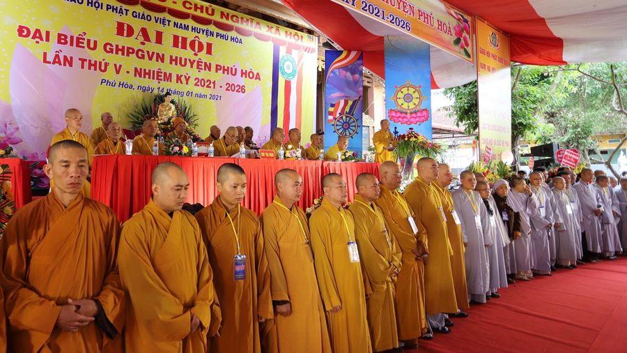 Phú Yên: Đại hội đại biểu Phật giáo huyện Phú Hòa
