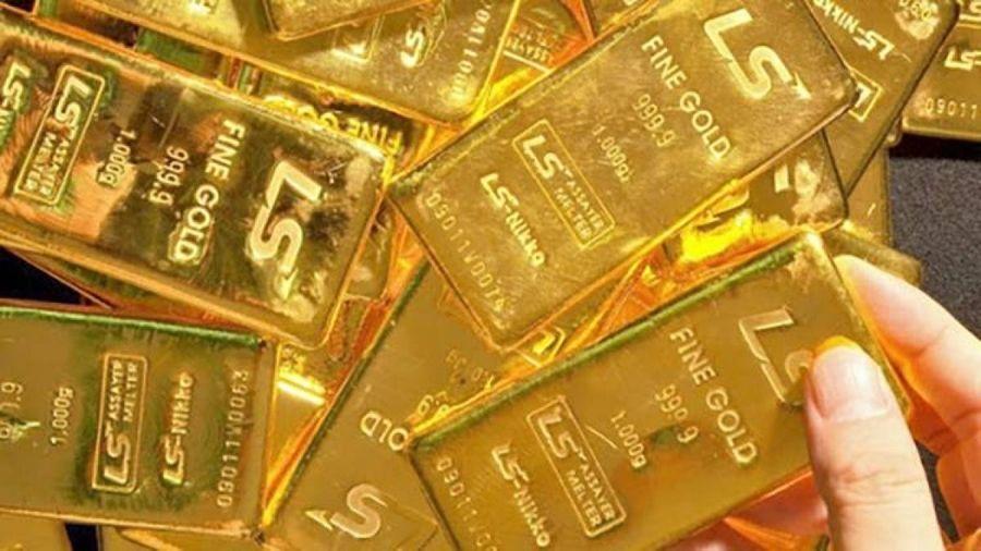 Giá vàng trong nước tăng nhẹ, 'ngược chiều' với vàng thế giới