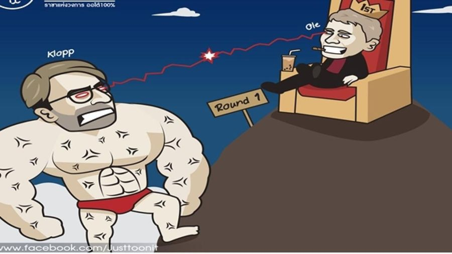 Biếm họa 24h: Liverpool nổi trận lôi đình, MU lành ít dữ nhiều?