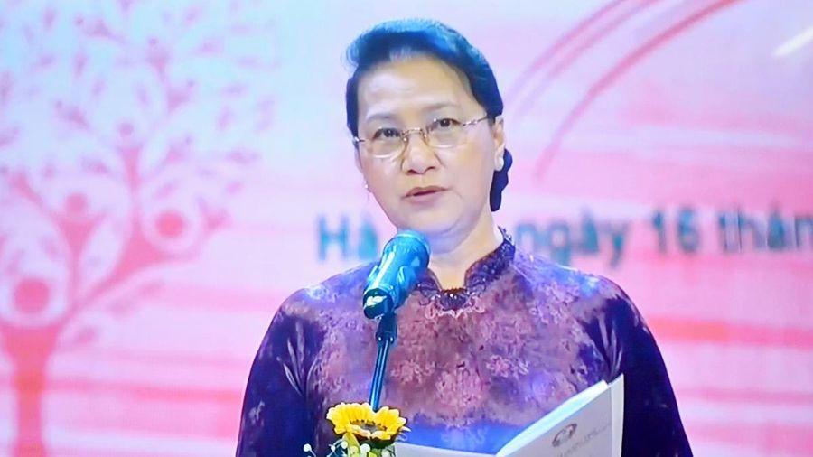 Chủ tịch Quốc hội dự chương trình 'Sức mạnh Nhân đạo 2021'