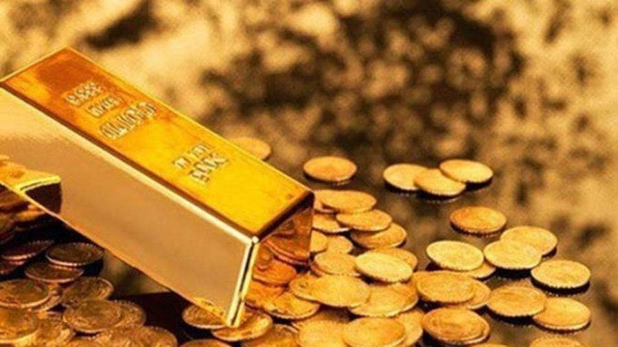 Giá vàng cuối tuần diễn biến trái chiều