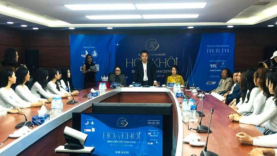 41 thí sinh tham dự chung kết cuộc thi Hoa khôi sinh viên Việt Nam 2020