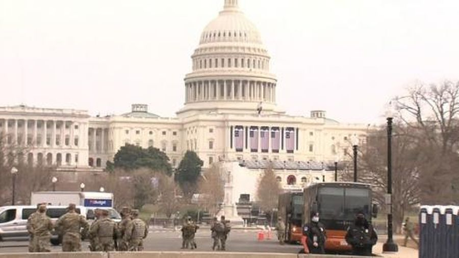 An ninh thắt chặt trước lễ nhậm chức Tổng thống Mỹ Joe Biden