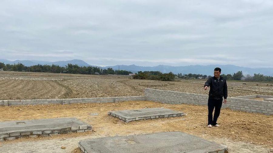 Cần giải quyết triệt để tình trạng tự do mua bán đất nghĩa trang tại Thanh Luông