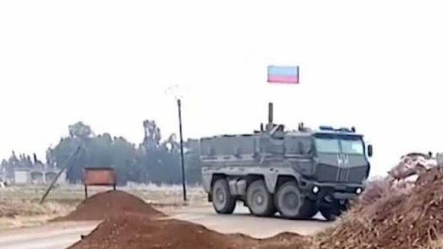 Video Nga rầm rập triển khai quân tới bắc Syria