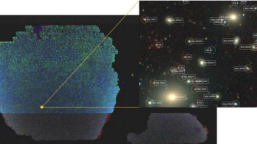 Phát hành bản đồ 2D khổng lồ của vũ trụ