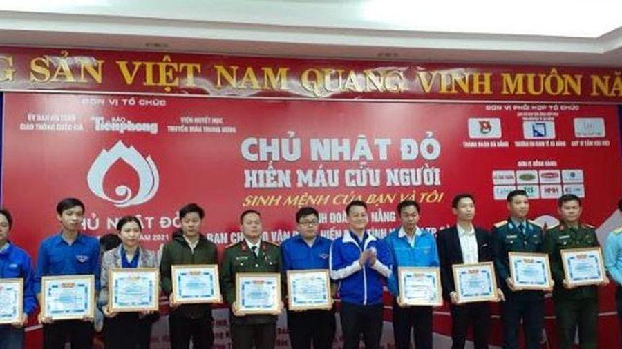 Đà Nẵng: Dự kiến thu về 800 đơn vị máu trong ngày 'Chủ nhật Đỏ'