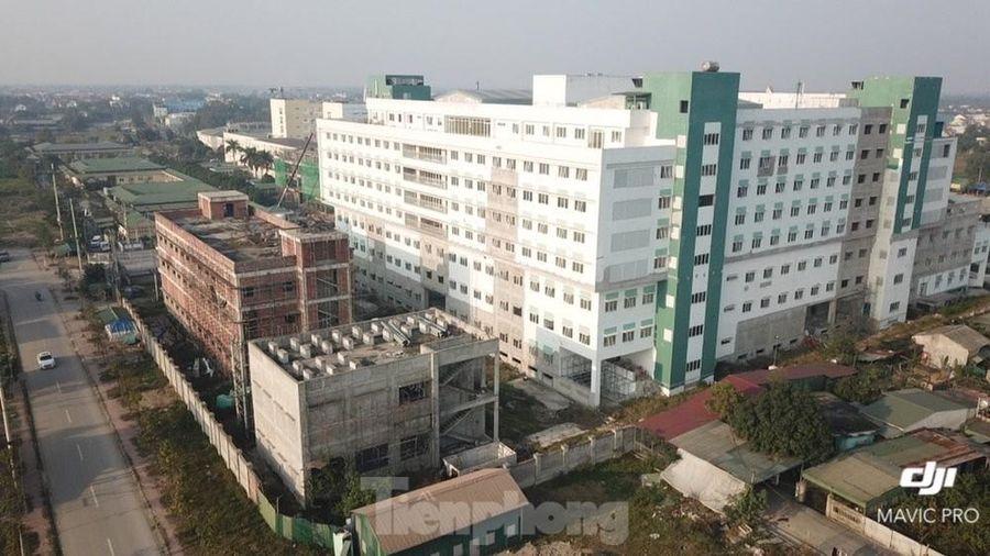 Bên trong dự án bệnh viện nghìn tỷ chậm tiến độ ở Nghệ An