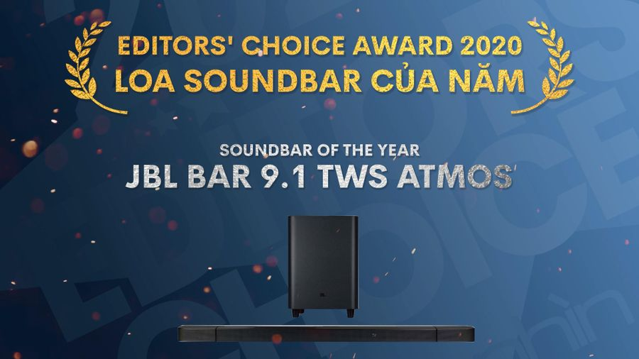 Editors' Choice Awards 2020: JBL Bar 9.1 – Loa Soundbar của năm
