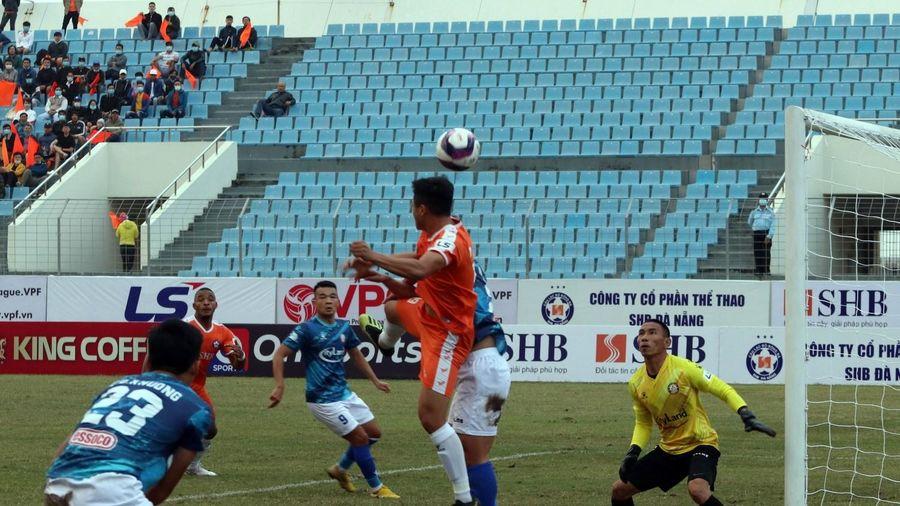 V.League 2021: SHB Đà Nẵng giành trọn 3 điểm trong trận đầu ra quân