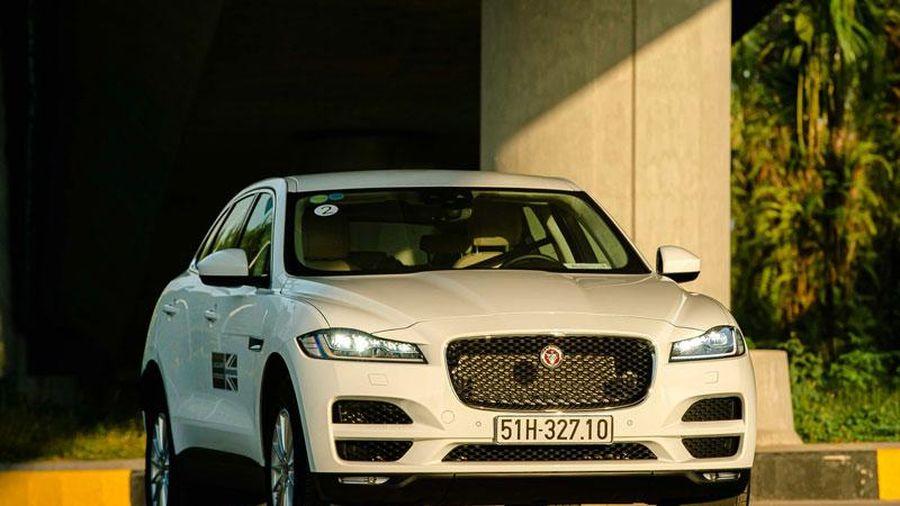 Đánh giá Jaguar F-Pace: Dòng máu thể thao trong diện mạo SUV hạng sang