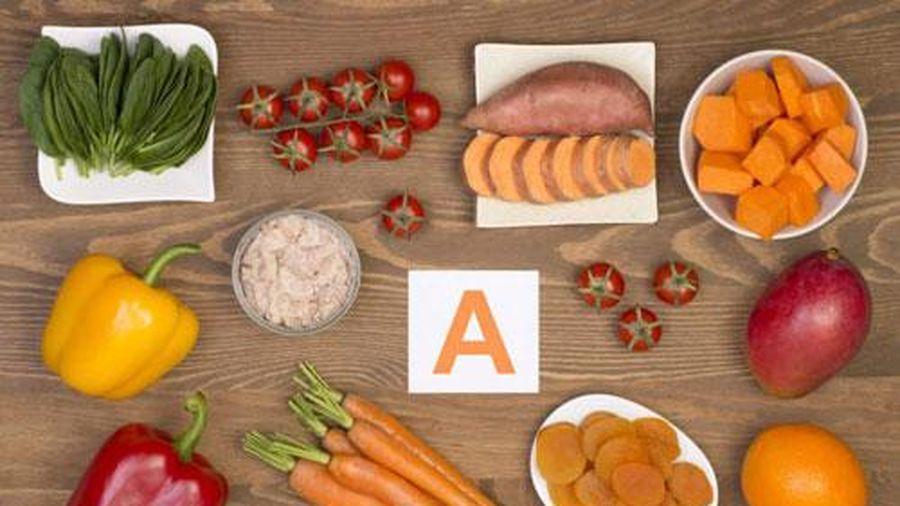 Dấu hiệu cơ thể thiếu vitamin A