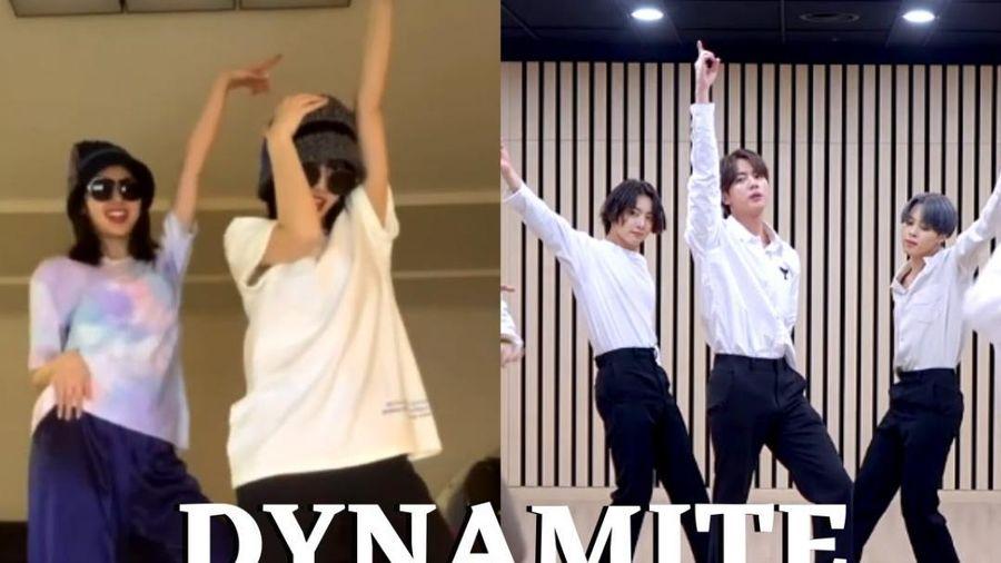 Dân mạng bấn loạn với màn cover 'Dynamite' của Momo (Twice)