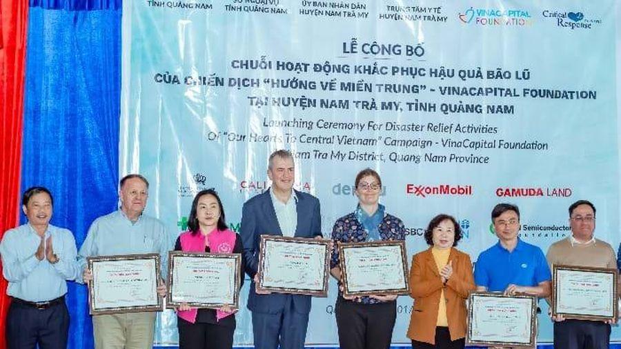 Hướng về miền Trung: Nu Skin Việt Nam cùng nhà phân phối tài trợ gần 500 triệu đồng