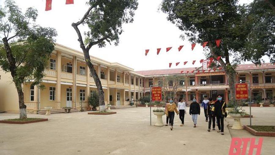 Ngành giáo dục Nông Cống với phong trào xây dựng trường lớp xanh, sạch, đẹp, an toàn