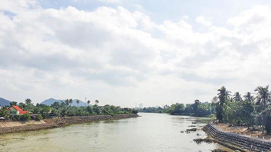 Xây dựng kè sông Cái Nha Trang