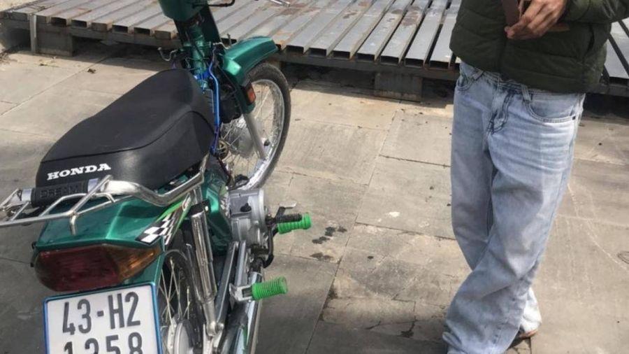 Đà Nẵng: CSGT xử lý vi phạm bất ngờ phát hiện xe bị trộm cắp