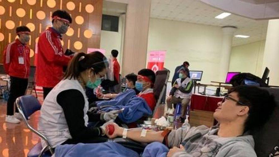 Tính đến 16/1, 'Chủ nhật Đỏ' đã nhận được hơn 20.000 đơn vị máu