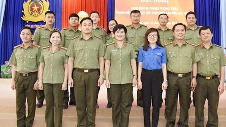 Đoàn Thanh niên CAND Cụm thi đua số 9 xung kích, sáng tạo trong công tác