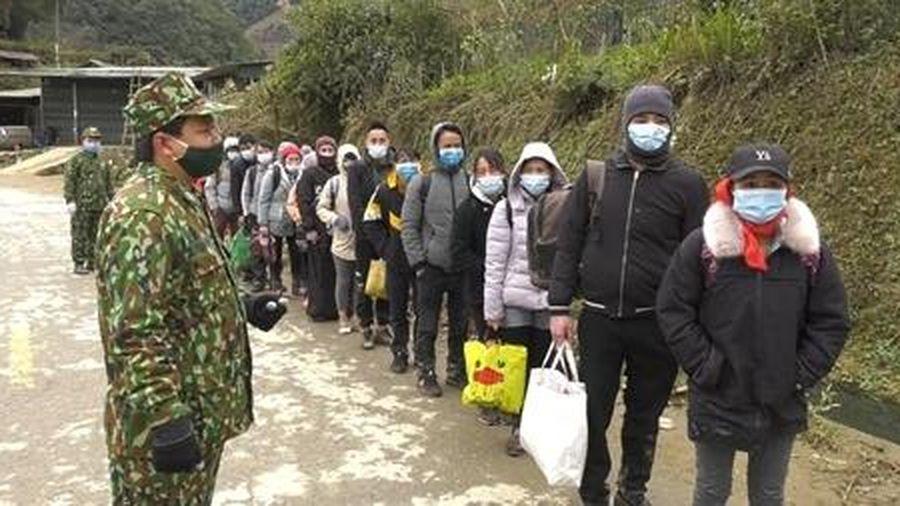 35 đối tượng nhập cảnh trái phép từ Trung Quốc vào Việt Nam