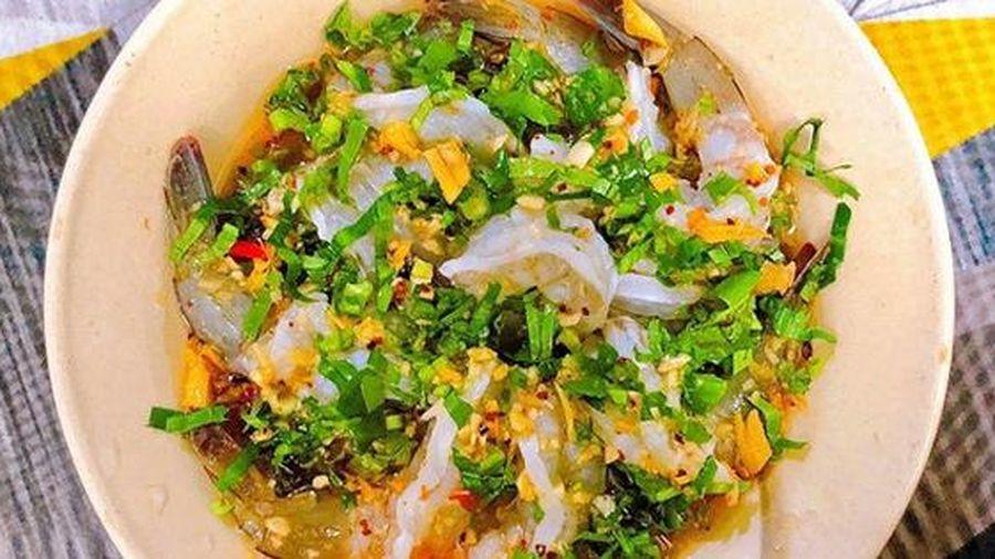 Cách làm món gỏi tôm sống kiểu Thái ngon 'tụt lưỡi'