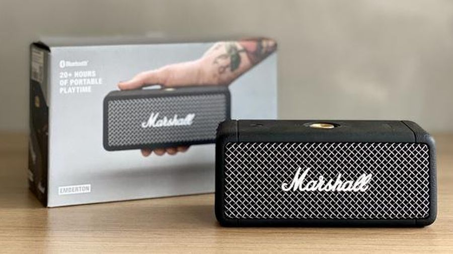 Loa bluetootch Marshall Emberton: Nhỏ xinh, âm thanh xịn