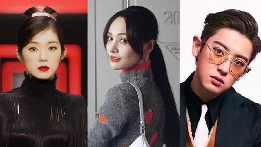 Số 'nhọ' như Prada: Hết Chanyeol, Irene đến Trịnh Sảng vừa làm đại diện thì vướng phải 'scandal'