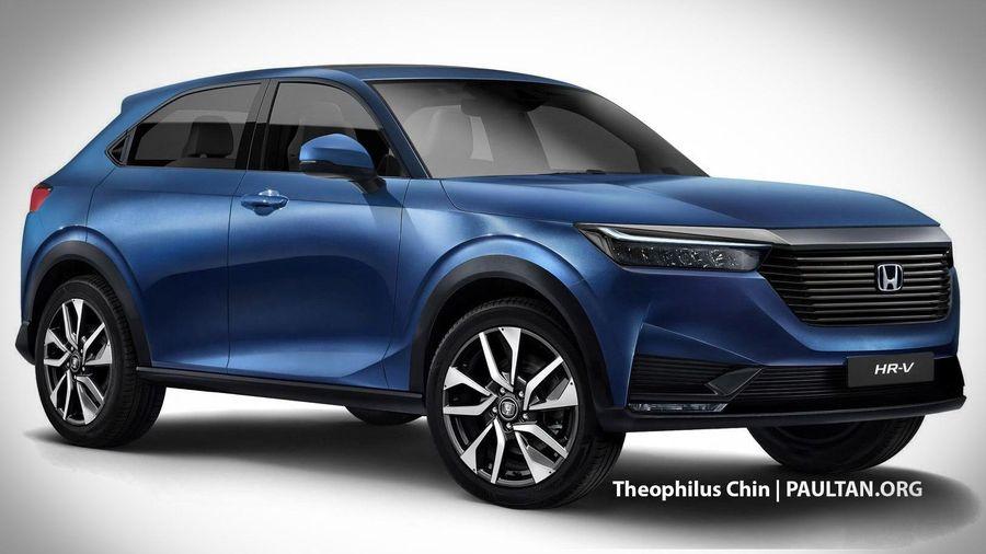 Honda HR-V đời 2021 sẽ có phiên bản hybrid