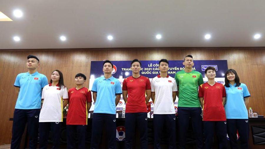 Công bố trang phục 2021 của ĐTQG Việt Nam