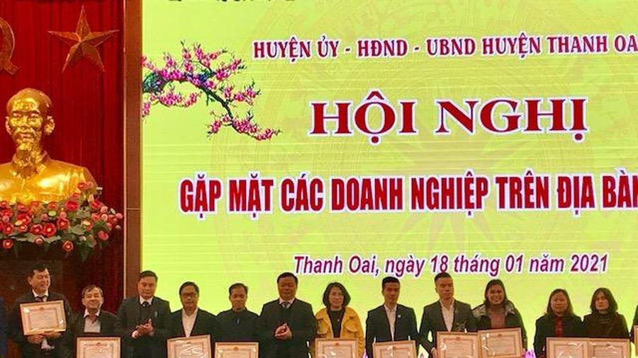 Huyện Thanh Oai: Hơn 1.400 doanh nghiệp nộp ngân sách trên 200 tỷ đồng
