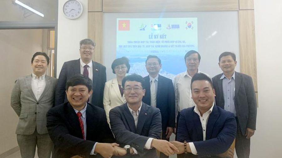 VKBIA ký kết hợp tác toàn diện với địa phương Yongsan (Hàn Quốc)