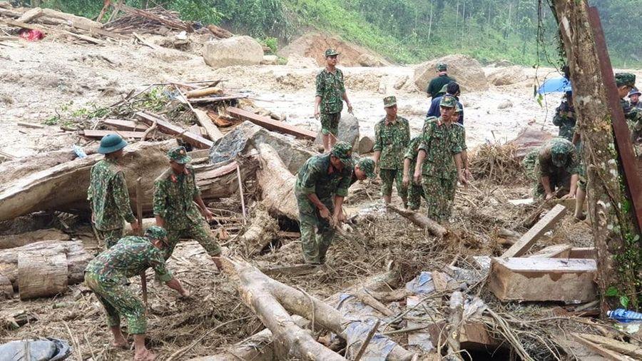 Giải pháp giảm thiểu thiệt hại do lũ quét, sạt lở đất ở miền Trung : Lập các bản đồ cảnh báo nguy cơ với tỷ lệ phù hợp