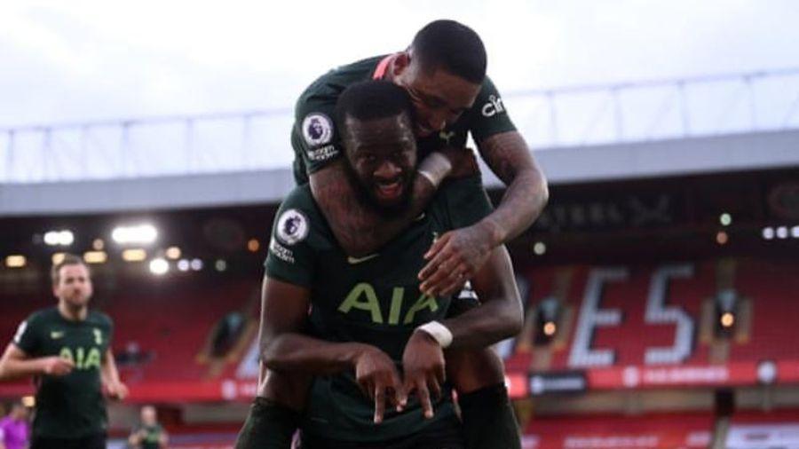 Thắng đậm Sheffield 3-1, Tottenham trở lại tốp 4