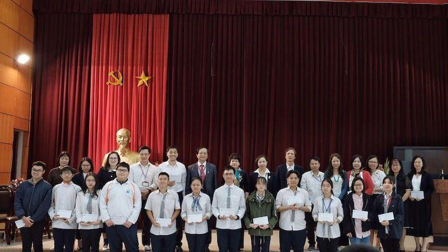 Nhiều địa phương có học sinh đạt giải cao nhất kỳ thi chọn học sinh giỏi quốc gia