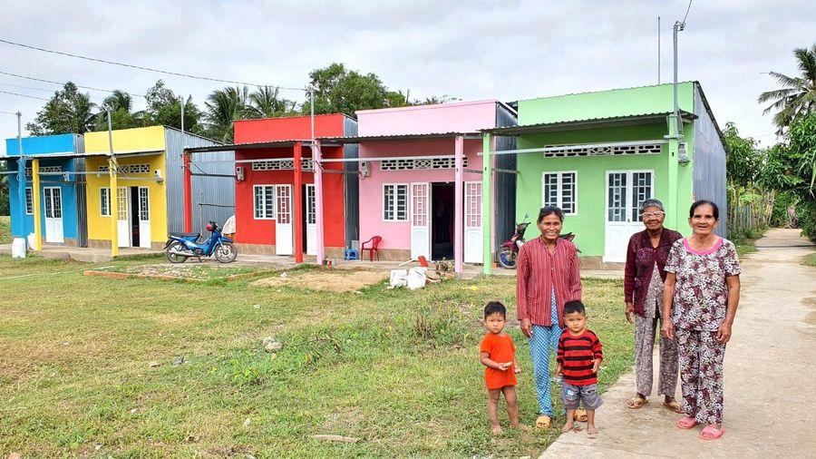'Sắc màu phum sóc' đến 30 hộ dân Khmer