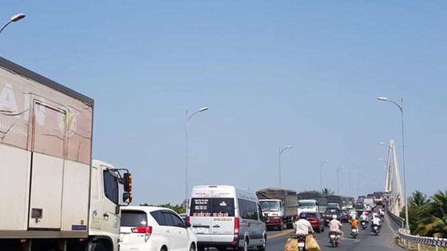 Các khung giờ cấm xe ô tô 3 trục trở lên qua cầu Rạch Miễu