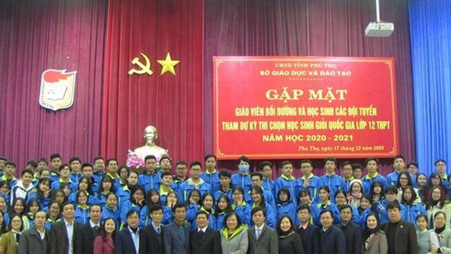 Phú Thọ: 6 học sinh lọt vào vòng 2 chọn đội tuyển thi Olympic quốc tế
