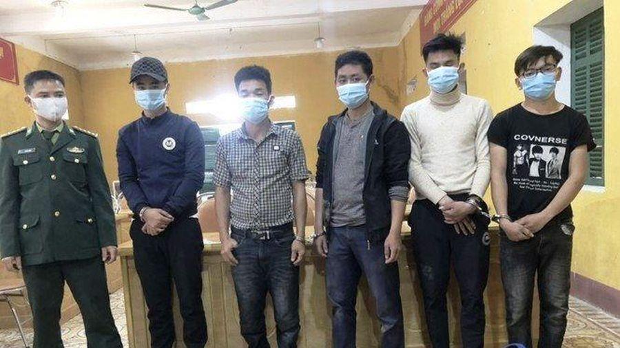 Ngăn chặn 5 đối tượng nhập cảnh trái phép từ Lào về Việt Nam