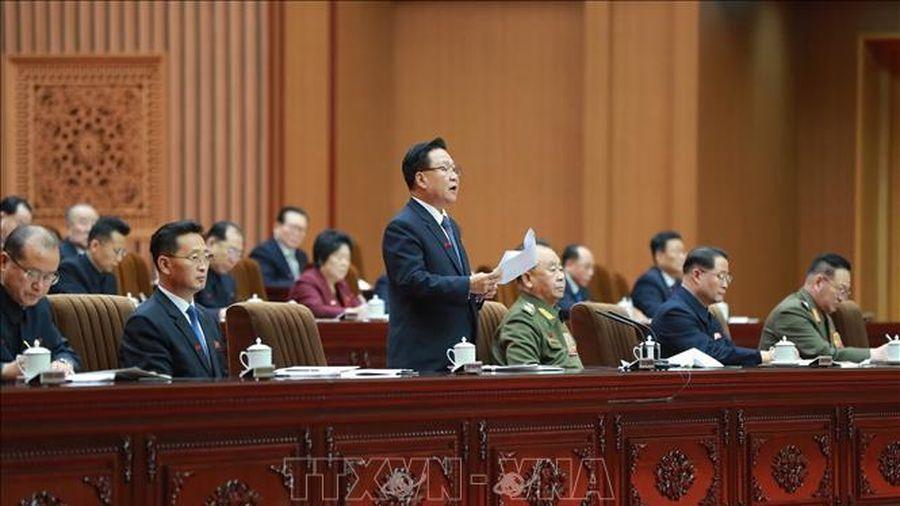 Triều Tiên bổ nhiệm nhiều vị trí mới trong nội các